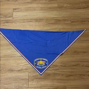 Vintage 1985 National Scout Jamboree bandanna